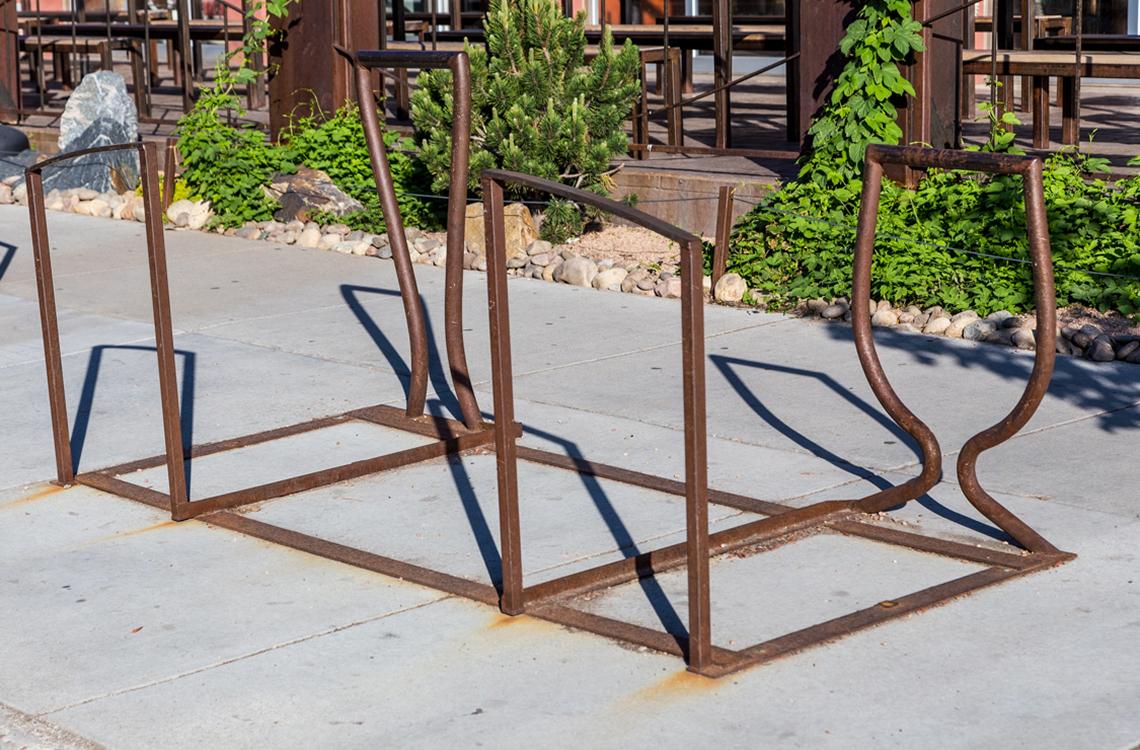 Denver Beer Co.- bike rack