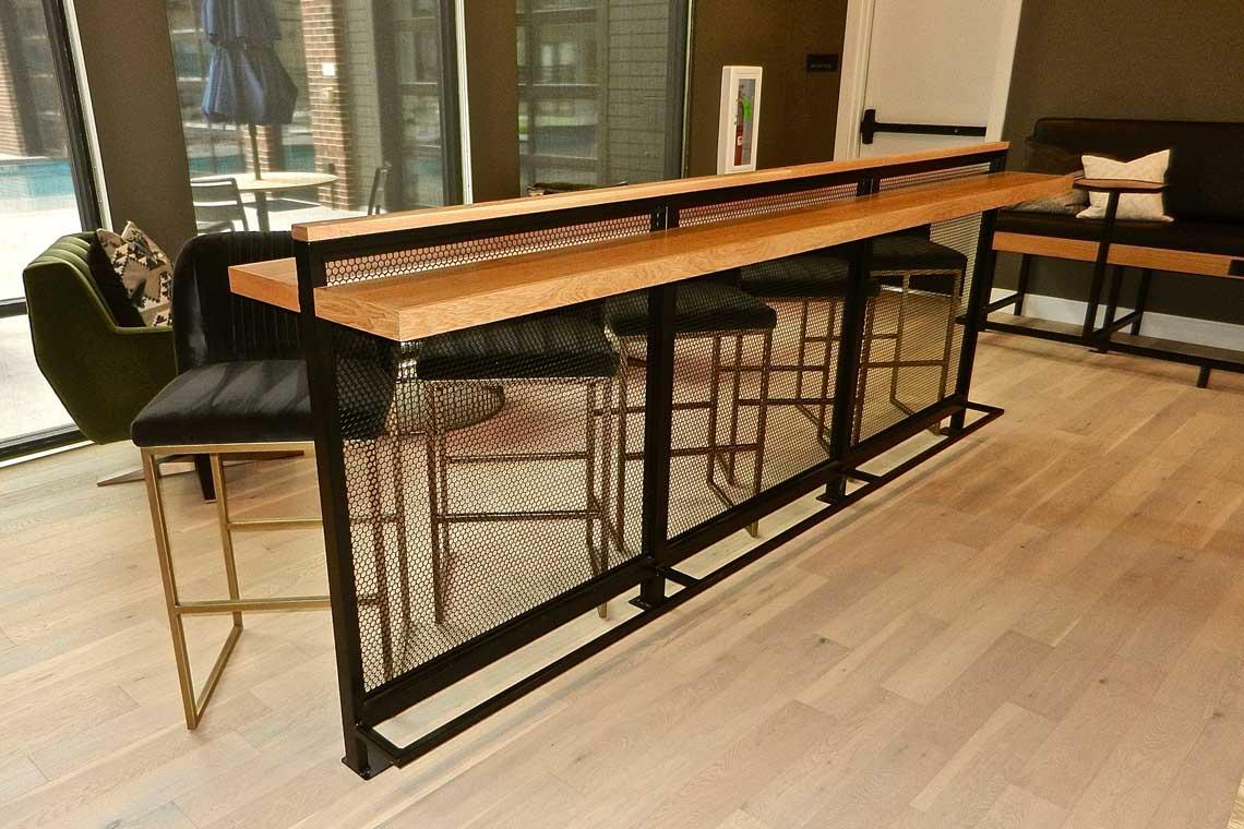 Railway- Game Room Bar Rail
