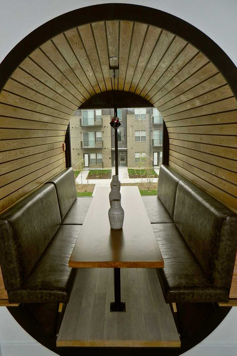 Railway- Tunnel Seating