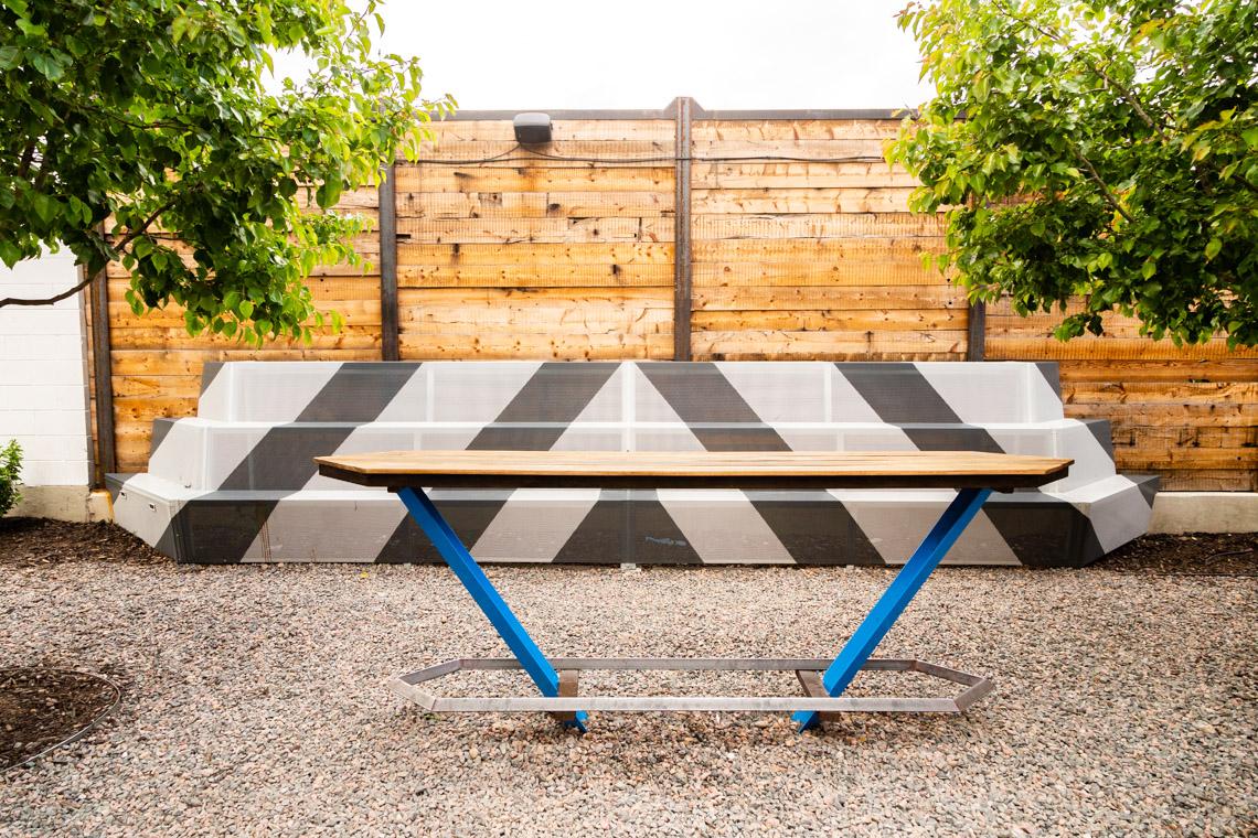 Ratio Beerworks- Outdoor Bench